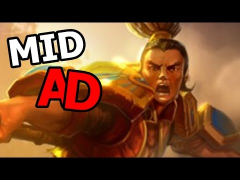 XIN ZHAO MID AD - LEAGUE OF LEGENDS #1