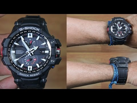 CASIO G-SHOCK GRAVITY MASTER GW-A1000-1A - UNBOXING