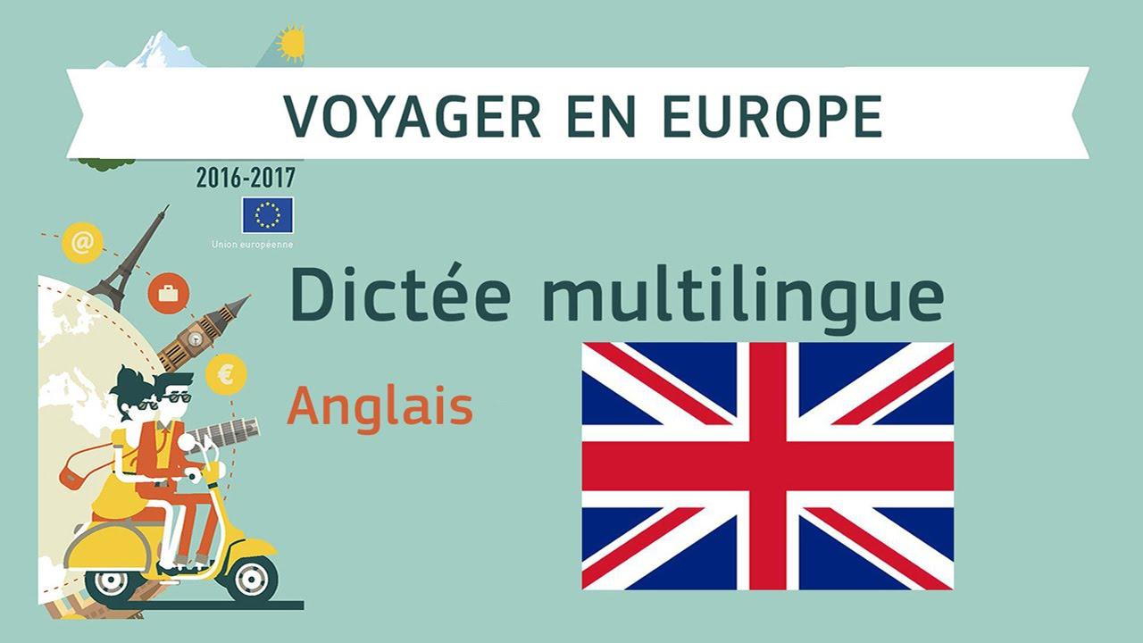 dict e multilingue voyager en europe anglais youtube. Black Bedroom Furniture Sets. Home Design Ideas
