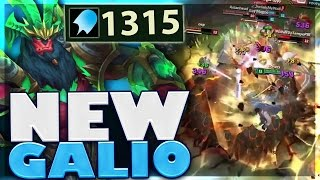 TEEMO INVIS + GALIO ULT!!! | MOST DAMAGE | CARRY SUPPORT GALIO | BunnyFuFuu