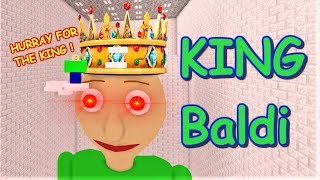 Download BOW DOWN TO GIANT KING BALDI!! | The Weird Side of Roblox: Baldi's Basics Obby Mp3 and Videos