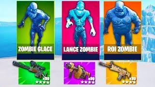 New ! The Zombie Ice  Challenge , Loot Aléatoires ! Fortnite