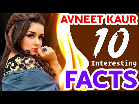 10 Interesting Facts About Avneet Kaur's Life You Must Know | Avneet Kaur Lifestyle