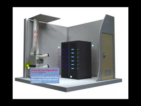 Portable Air Conditioner - Server Room Cooling - CoolCube 10