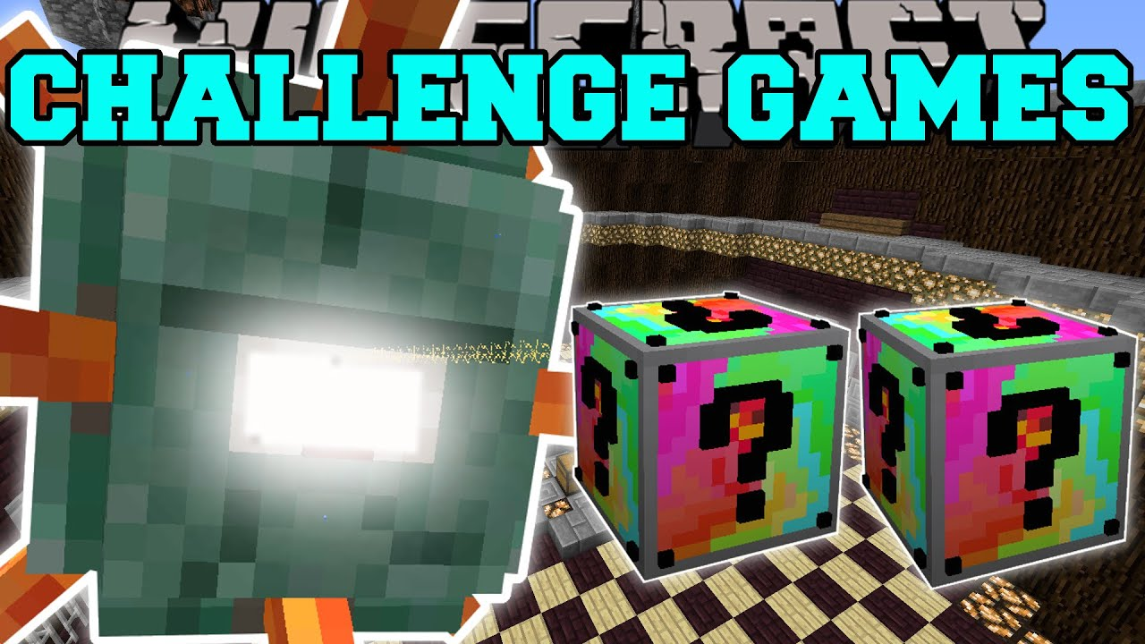 Download Minecraft: TITANIC GUARDIAN CHALLENGE GAMES - Lucky Block Mod - Modded Mini-Game