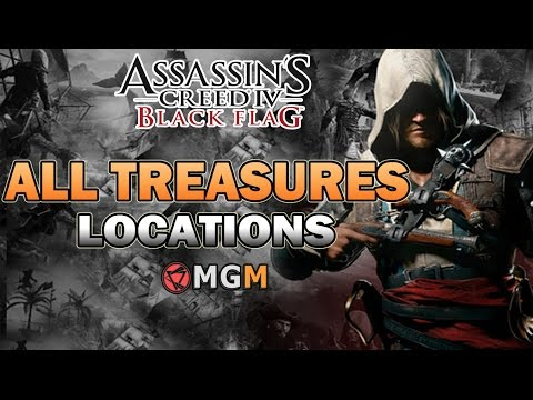 Assassins Creed 4 ™ All Treasures Locations ( Excavator Trophy / Achievement )