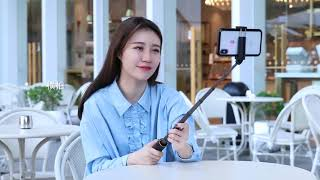 BASEUS SELFIE STICK OR TONGSIS BLUETOOTH SHUTTER TRIPOD HOLDER