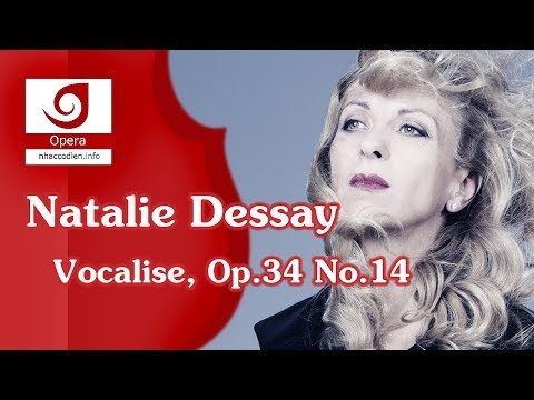 vocalise. солирует dessay natalie. temple university essay question 2011 Rachmaninov.