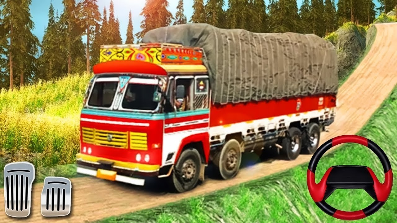 Indian Cargo New Simulater Game 2019 |Offroad Truck Driving | Android Game  Play