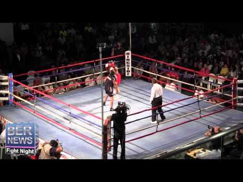 Anthony Williams vs Kaelin Cox At Fight Night, April 5 2014