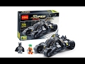 DECOOL SUPER HEROES 7105 LEGO 7888 BATMAN´S TUMBLER SPEED BUILD