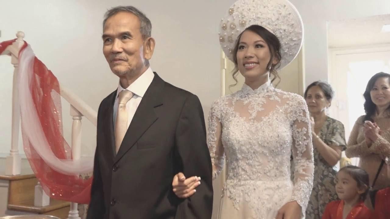 Earls Burn Japnese Garden Wedding | To and Huy | Vietnamese Bridal ...