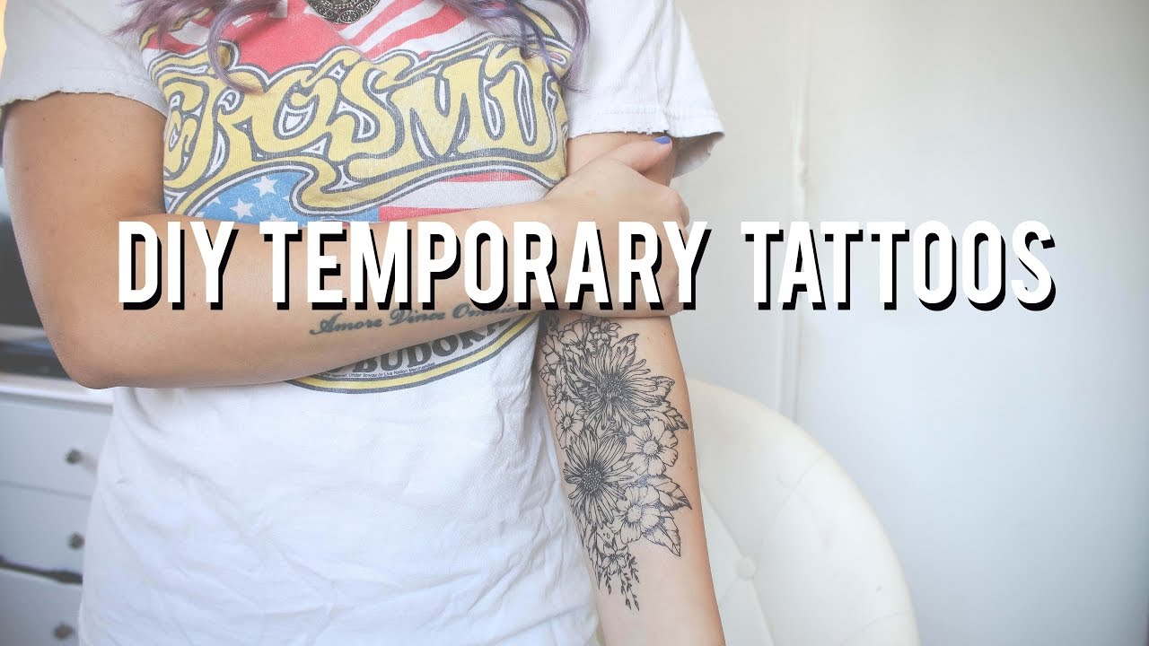 Easy temporary tattoos at home do it yourself youtube easy temporary tattoos at home do it yourself solutioingenieria Image collections