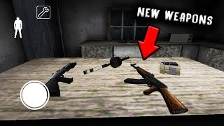 I Found NEW SECRET WEAPONS in GRANNY HORROR GAME... (Granny Mobile Horror Game)