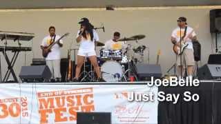 JoeBelle @ The End Of Summer Music Festival 2015