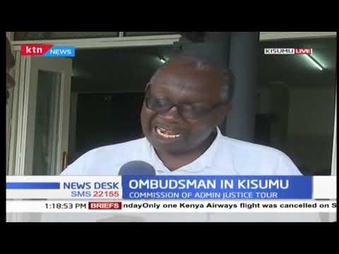Office of the Ombudsman is in Kisumu to enlighten public on its mandate