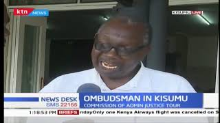Office of the Ombudsman is in Kisumu to enlighten public on its mandate