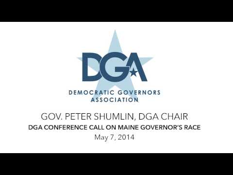 DGA Chair Conference Call on Maine Governor