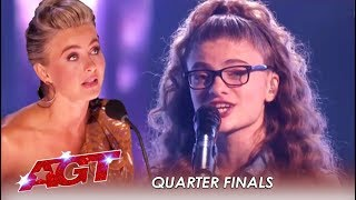 "Sophie Pecora: Brings Judges To TEARS With Original Song ""Happy In LA"" 