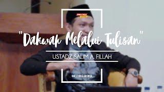 """""""Dakwah Melalui Tulisan""""   Ustadz Salim A. Fillah   Q&A KAJIAN UMUM"""
