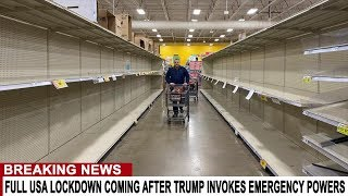 BREAKING: FULL LOCKDOWN USA AS STATES PREPARE FOR FOOD RIOTS - SUPER VIRUS STRIKES DOWN YOUNG PEOPLE