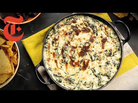 Cheesy Spinach Artichoke Dip | NYT Cooking