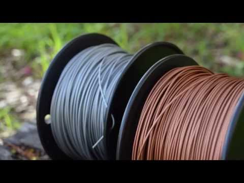 Metallic 3D Printing Filament Review - Is it actually Metal? - 2015
