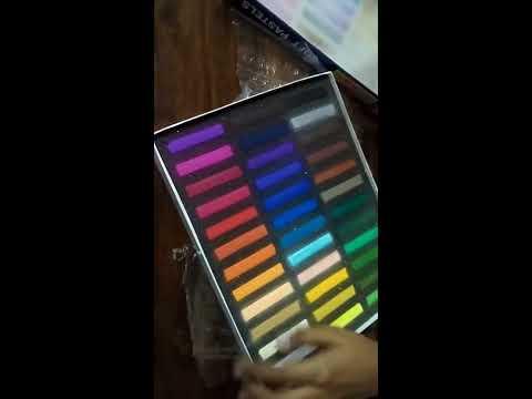 CAMEL SOFT PASTELS ( 36 SHADES ) Color Unboxing Mp3