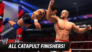 wwe 2k14 all catapult finishers