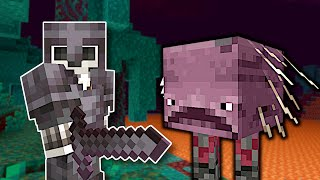 Exploring the New Nether Update for NETHERITE! - Minecraft Multiplayer Gameplay
