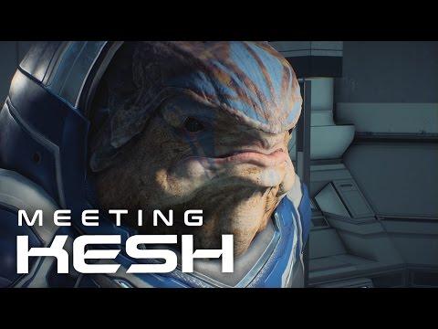 Mass Effect Andromeda: Meeting Female Krogan Leader Kesh
