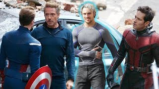 QUICKSILVER in Avengers 4!!! SPOTTED ON SET