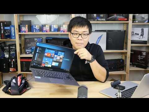 #AdminPong #แกะกล่อง #รีวิว โน้ตบุ๊คจอบางเฉียบ ASUSPro B9440UA และ Dell XPS 13 (2017)