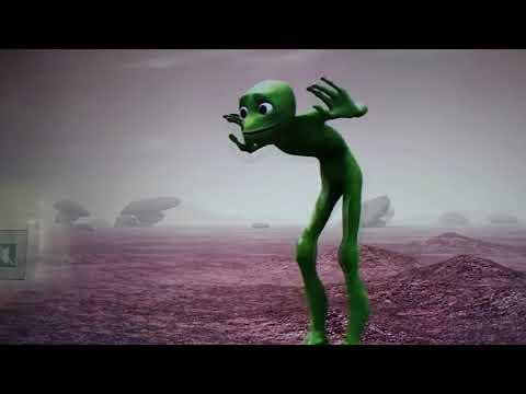Alien Bailando wiggle