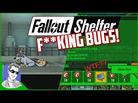 Fallout Shelter Vault 628 Huge Bug EP49