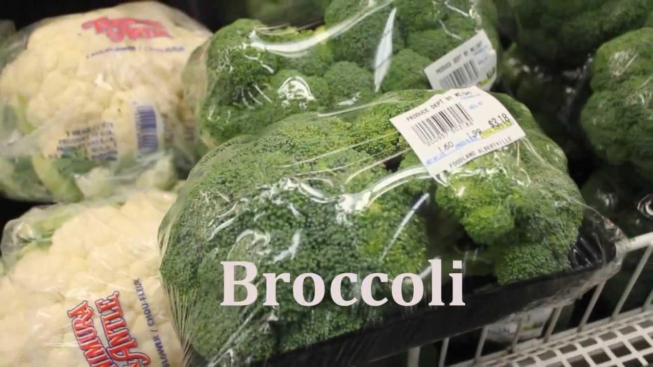 Como decir las frutas y verduras en inglés. Vocabulario de inglés.