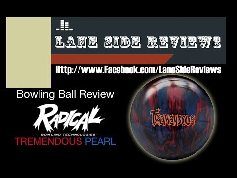 Radical Bowling Tremendous Pearl Bowling Ball Review by Lane Side Reviews