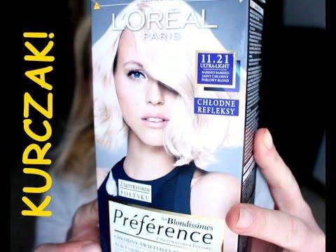 LOREAL *Bardzo jasny perłowy, chłodny blond 11.21* OKROPNA!