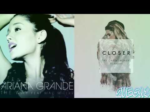 The Way Closer - The Chainsmokers x Ariana Grande Mashup by 2Vegas