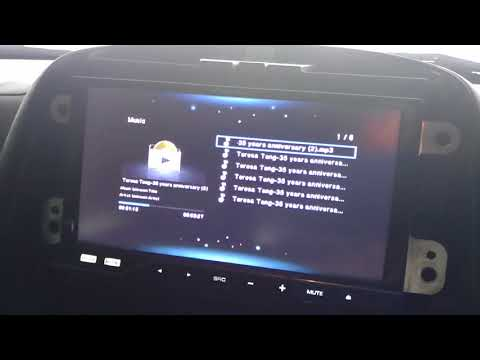 Car wifi display PVT 898 sound problem