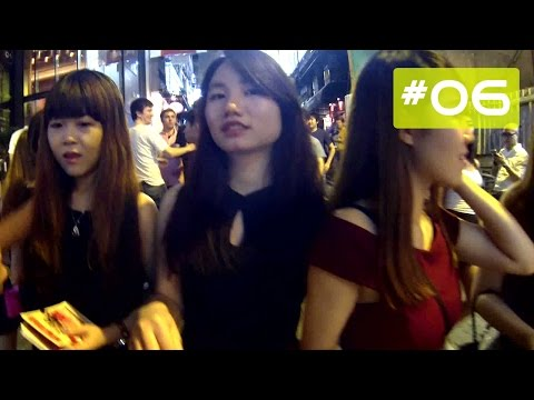 Hong Kong Nightlife Lan Kwai Fong 蘭桂坊