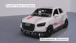 Audi Q2 1:8 scale model car