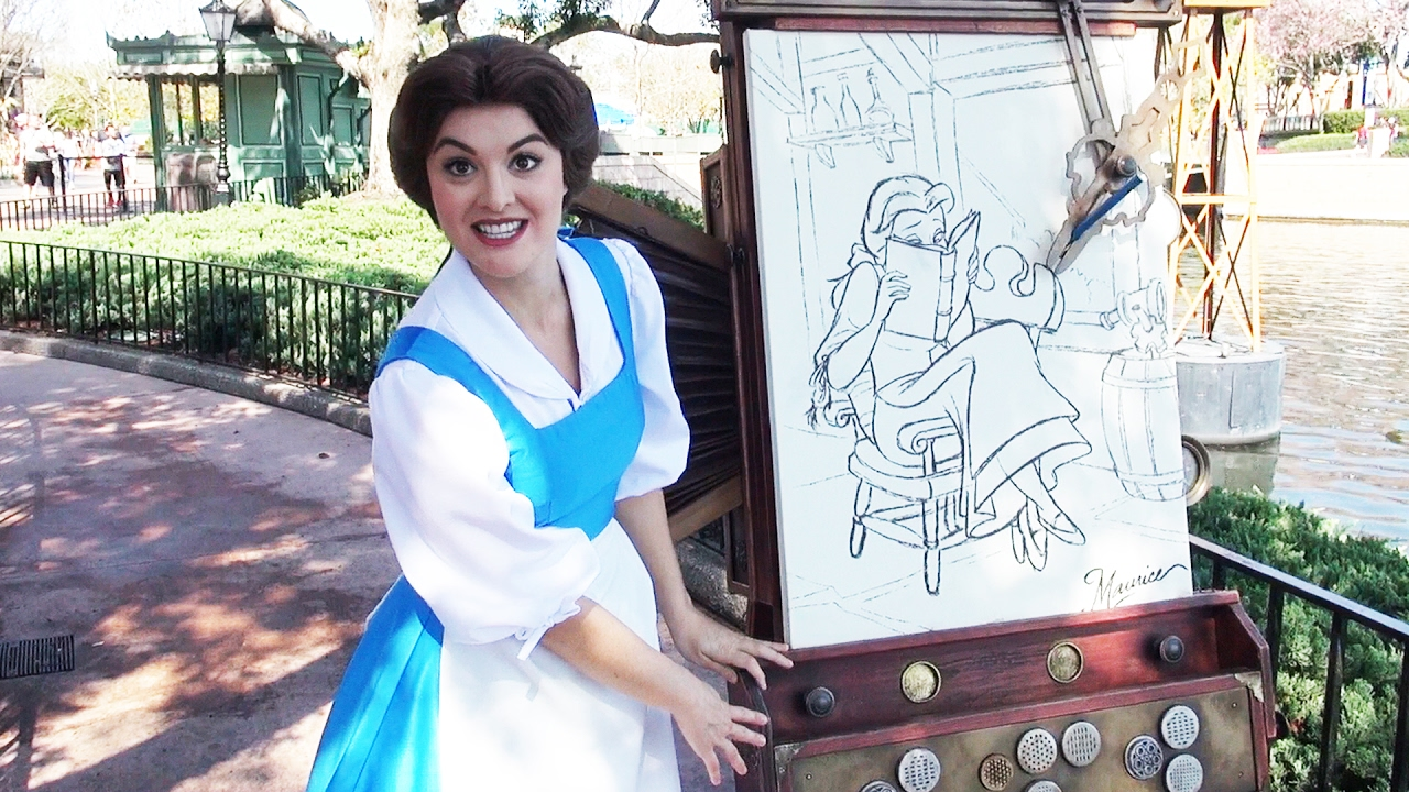 Belle From Beauty The Beast Meet Greet At Epcot Talks About