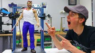 AWESOME 3D Printed Logan Wolverine - BIG 3D Print