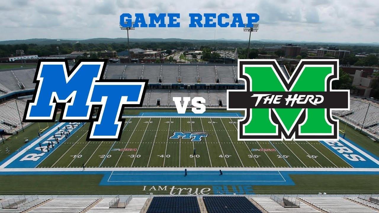 MTSU V. Marshall Game Recap