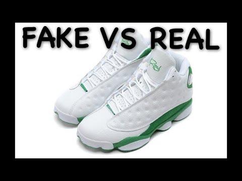online store 88a51 5a111 Ray Allen Air Jordan 13 Fake Check
