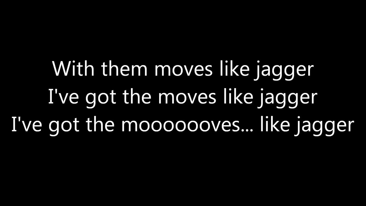 moves like jagger download