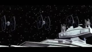 T.I.E Fighter model animation   Star Wars fan 3D modeling   Cinema 4D + Blender [HD]
