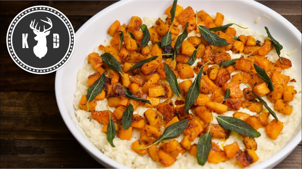 """The Best"" Butternut Squash Risotto 