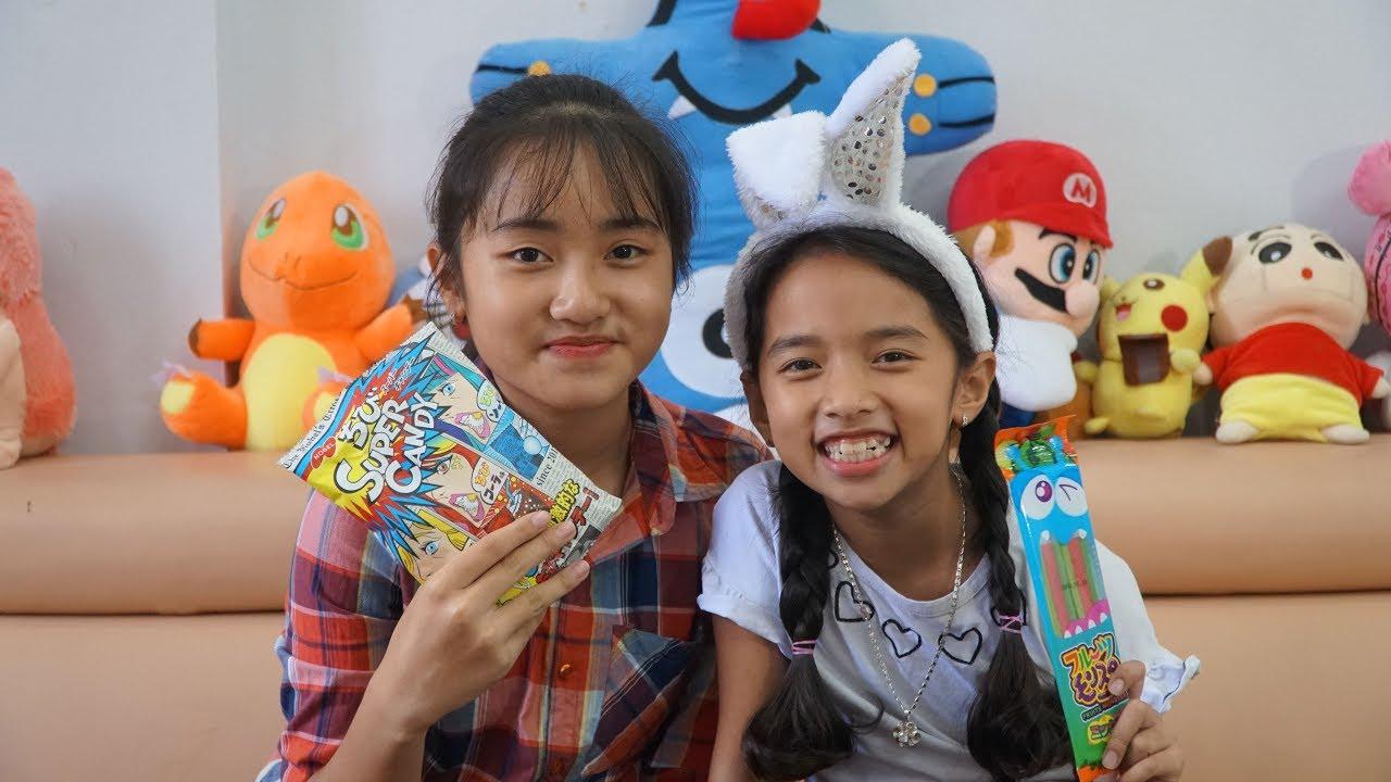 100% Kẹo Siêu Chua - Trò Chơi Ăn Kẹo Chua 3 Vị và Kẹo Chua Cầu Vồng - MN Toys
